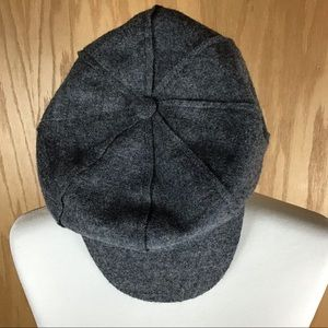 Nine West Wool Flat Cap Newsboy Hat